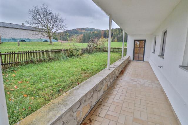 Terrasse + Garten