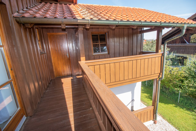 Balkon - Zugang zum 2. Schlafzimmer