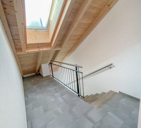 Treppenaufgang in der Wohnung
